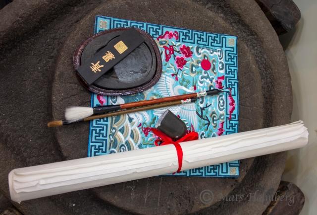 Foto Mats Holmberg En konstnärs verktyg Peking