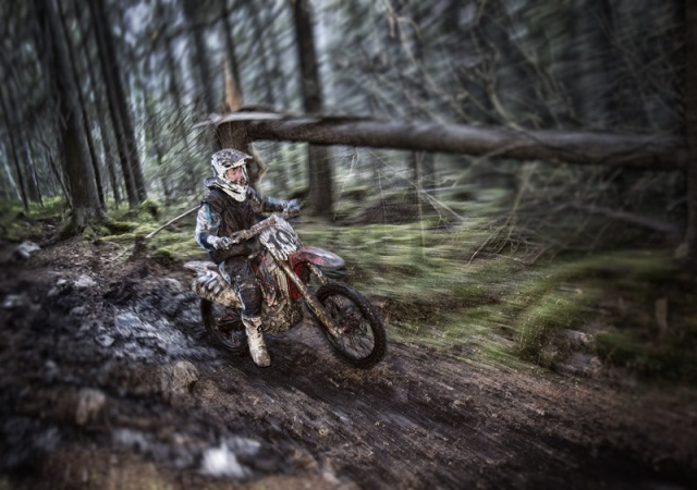 Photo Svanthe Harström Enduro Njurunda