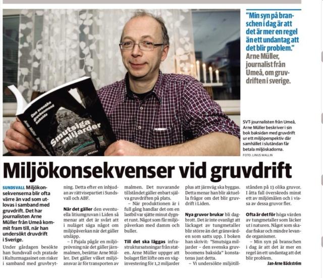 Sundsvalls Tidning den 3/12 2013
