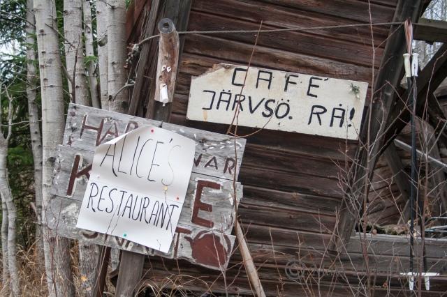 Foto Mats Holmberg Järvsö kafé längs Kalvstigen