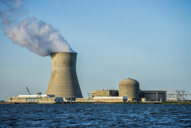Hope Creek Nuclear Generating Station taken from Delaware River. (Credit: Flickr @ Peretz Partensky https://www.flickr.com/photos/ifl/