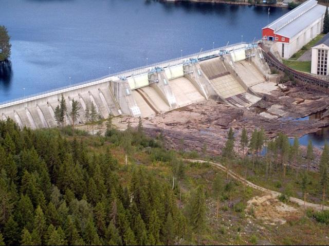 Krångede vattenkraftverk Foto Stefan Sjödin, Fortum