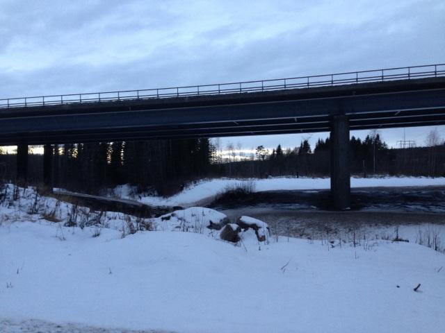 Foto Leo Oras E4 bron över Vaplebäcken