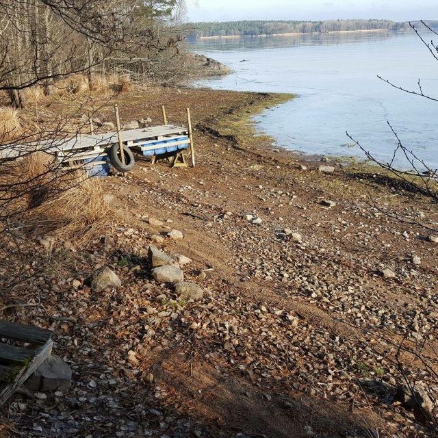 Konsekvenserna av småskalig vattenkraft. Sjön Yxern Kalmar län. Foto Tino Åberg